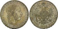 Doppeltaler 1866, Haus Habsburg - Österreich, Kaiser Franz Joseph I, vz... 2350,00 EUR free shipping