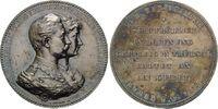 Silbermedaille o.J., Preussen, Wilhelm II ...