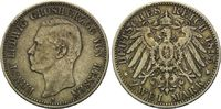 2 Mark 1895, Hessen, Ernst Ludwig, 1882-19...