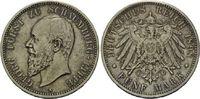5 Mark 1898, Schaumburg-Lippe, Georg, 1893-1911, ss/vz  1350,00 EUR free shipping