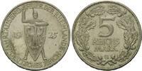 5 Reichsmark 1925 G, Weimarer Republik, Zu...