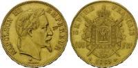 100 Francs 1869 A, Frankreich, Napoleon III, 1852-1870, f.vz, Sf., kl.Kr.  1580,00 EUR free shipping