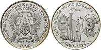 1000 Dobras 1990, Sao Tomè und Principe, V...