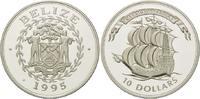 10 Dollars 1995, Belize, Geschichte der Se...