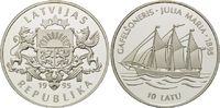 "10 Latu 1995, Lettland, Gaffelschoner ""Julia Maria"", PP  38,00 EUR  +  9,90 EUR shipping"