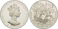 5 Pfund 1992, Falkland Inseln, 400. Jahres...