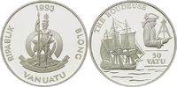 50 Vatu 1993, Vanuatu, Geschichte der Seefahrt - Fregatte 'La Boudeuse'... 26,00 EUR  +  9,90 EUR shipping
