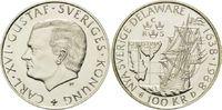 100 Kronen 1988, Schweden, 350 Jahre Landu...