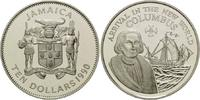 10 Dollars 1990, Jamaika, 500 Jahre Entdec...