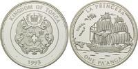 "1 Pa´anga 1993, Tonga, Segelschiff ""La Princesa"", PP  26,00 EUR  +  9,90 EUR shipping"