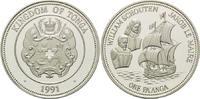 1 Pa´anga 1990, Tonga, William Schouten, Jakob le Maire - Segelschiff, ... 28,00 EUR  +  9,90 EUR shipping