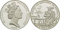 10 Dollars 1991, Salomonen, Geschichte der...
