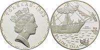 5 Dollars 1993, Tokelau, Geschichte der Seefahrt - Segelschiff H.M.S. P... 26,00 EUR  +  9,90 EUR shipping