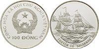 100 Dong 1991, Vietnam, Geschichte der Seefahrt, Besegeltes Dampfschiff... 32,00 EUR  +  9,90 EUR shipping