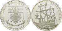500 Francs 1991, Kongo V.R., Geschichte der Seefahrt, Galeone, offene PP  24,00 EUR  +  9,90 EUR shipping