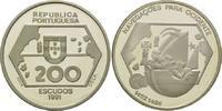 200 Escudos 1991, Portugal, Portugiesische...