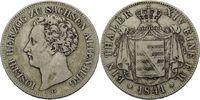 Vereinstaler 1841, Sachsen-Altenburg, Jose...