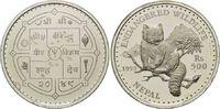 500 Rupien 1992, Nepal, WWF, bedrohte Tierwelt - Katzenbär, offene PP m... 29,00 EUR  +  9,90 EUR shipping
