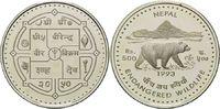 500 Rupien 1993, Nepal, WWF, bedrohte Tierwelt - Kragenbär, offene PP  32,00 EUR  +  9,90 EUR shipping