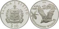 10 Tala 1994, Samoa, WWF, bedrohte Tierwelt - Flughund, PP minimal ange... 29,00 EUR  +  9,90 EUR shipping