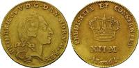 12 Mark 1761 W, Dänemark, Frederik V., 174...