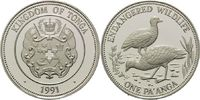 1 Pa´anga 1991, Tonga, WWF, bedrohte Tierwelt - Dschungelhühner, PP min... 25,00 EUR  +  9,90 EUR shipping