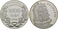 1000 Leva 1996, Bulgarien, Segelschiff, Ba...
