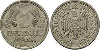 2 Mark 1951 J, Deutschland, Ähren und Trau...