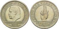 5 Mark 1929 F, Weimarer Republik, Schwurha...