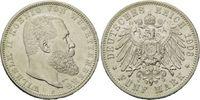 5 Mark 1903, Württemberg, Wilhelm II., 189...