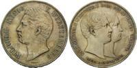 Doppeltaler 1846, Württemberg, Wilhelm I.,...