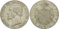 Taler 1848, Sachsen-Coburg-Gotha, Ernst II...
