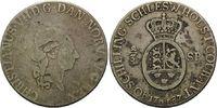 2/3 Taler / 40 Schilling 1787, Schleswig-H...