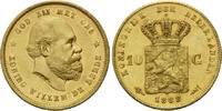 10 Gulden 1888, Niederlande, William III.,...