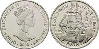 2 Pfund 2000, Falkland Inseln, Gold Rausch...