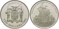 10 Dollars 2003, Jamaika, 500 Jahre Entdeckung Amerikas, Segelschiff, F... 32,00 EUR  +  9,90 EUR shipping