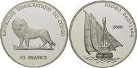 10 Francs 2000, Kongo Demokratische Republik, Geschichte der Seefahrt, ... 39,00 EUR  +  9,90 EUR shipping