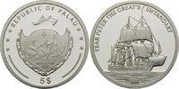 5 Dollars 2006, Palau, Geschichte der Seefahrt, Segelschiff Zar Peter d... 32,00 EUR  +  9,90 EUR shipping