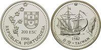 200 Escudos 1996, Portugal, Taiwan, Segels...