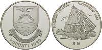 5 Dollars 1999, Kiribati, Geschichte der Seefahrt, Segelschiff 'Coquill... 59,00 EUR  +  9,90 EUR shipping