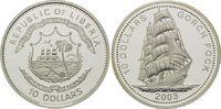 10 Dollars 2003, Liberia, Geschichte der S...
