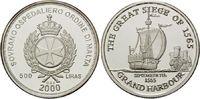 500 Liras 2000, Malteser Orden, Geschichte...
