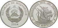 1000 Meticais 2004, Mosambik, Geschichte d...