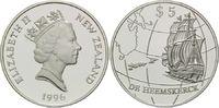 5 Dollars 1996, Neuseeland, Geschichte der...