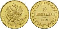 10 Markaa 1913 S, Finnland, Nikolaus II. v...