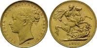 Sovereign 1886 M, Australien, Victoria, 18...