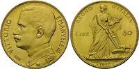 50 Lire 1912 R, Italien, Vittorio Emanuele...