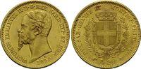 20 Lire 1855, Italien, Vittorio Emanuele I...