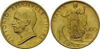 100 Lire 1931 R, Italien, Vittorio Emanuel...