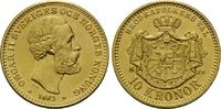 10 Kronen 1883, Schweden, Oskar II., 1872-...